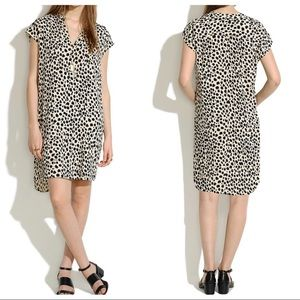 🆕 MADEWELL MORNINGSIDE LEOPARD PRINT SHIFT DRESS